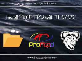 Install PROFTPD with TLS_SSL