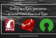 Setting up a Ruby gem server to use locally