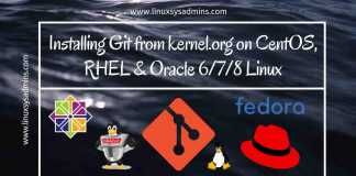 Installing Git from kernel.org on CentOS, RHEL & Oracle 6_7_8 Linux