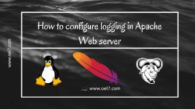 Configure Apache Web server Logging