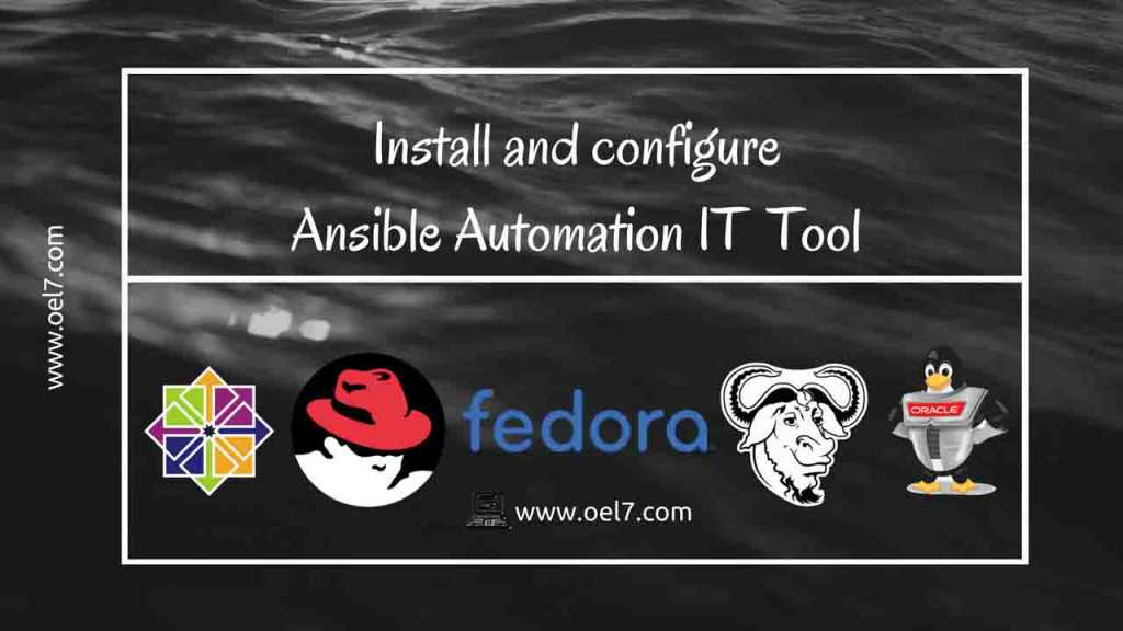 Install and configure Ansible Automation IT Tool 3