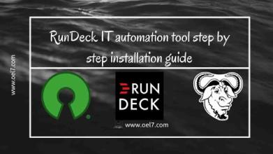 RunDeck IT automation tool step by step installation guide
