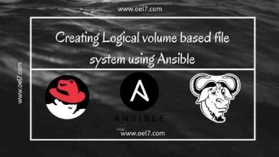 Creating LVM with Ansible