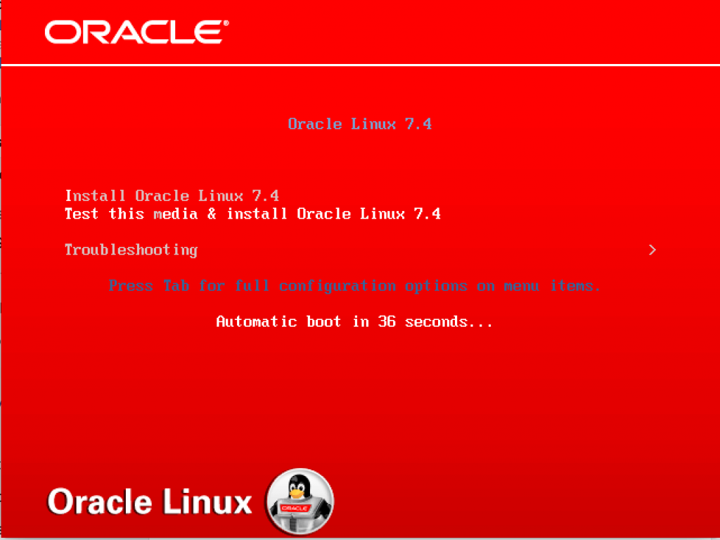 Oracle Linux 7.6 Installation