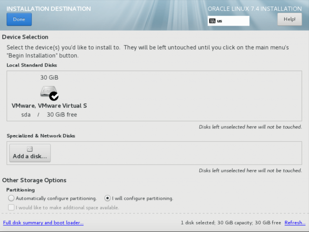 Step by step Oracle Linux 7 4 Installation guide with screenshots