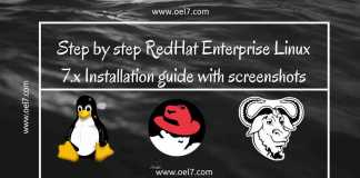Step by step RedHat Enterprise Linux 7 Installation guide with screenshots