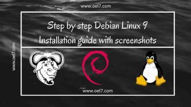 Debian Linux 9 Installation guide