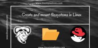 Create and mount filesystems in Linux www.linuxsysadmins.com