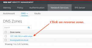 Verify DNS PTR record creation