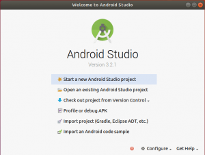 Creating desktop icon for android studio
