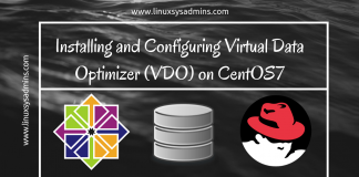 Installing and Configuring Virtual Data Optimizer (VDO) on CentOS7
