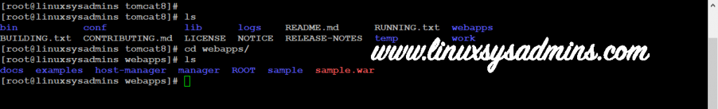 sample.war for tomcat