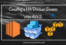 Creating a HA Docker Swarm over AWS