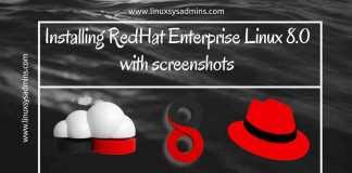 Installing RedHat Enterprise Linux 8.0