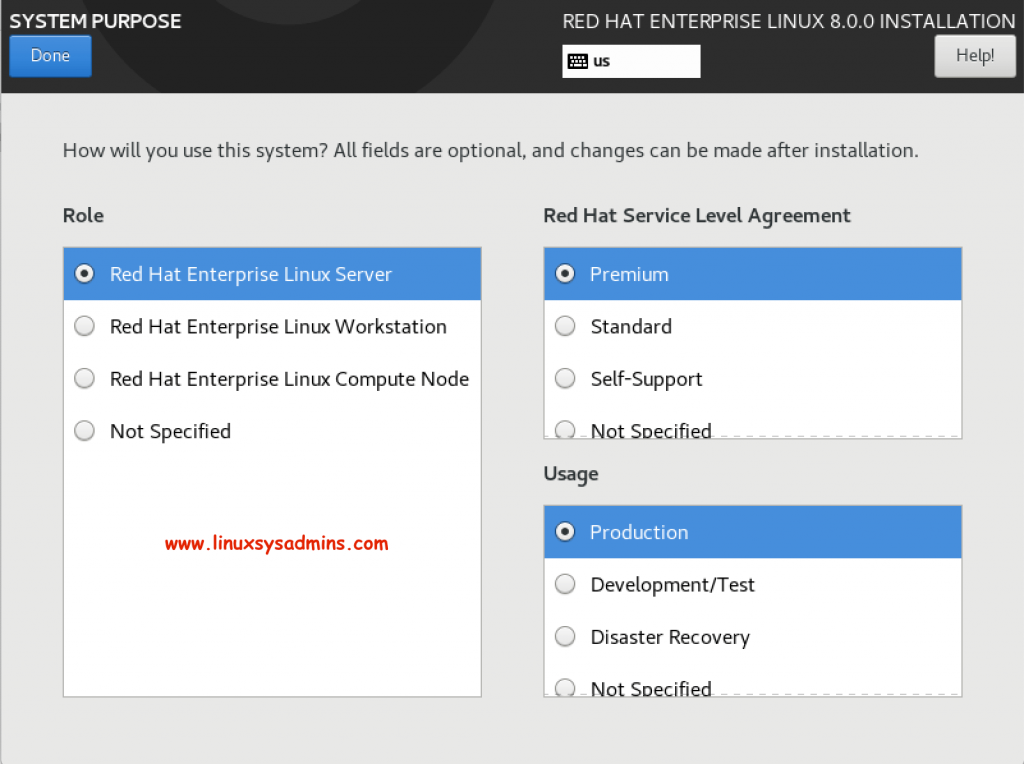 Installing RedHat Enterprise Linux 8 0 with screenshots