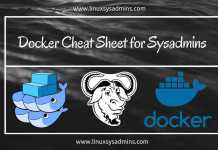 Docker Cheat Sheet for Sysadmins