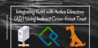 IDM and Active Directory Cross forest Trust