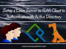 Step by step installing an Identity Management server in