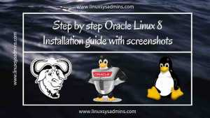 Step by step Oracle Linux 8 Installation guide with screenshots 4