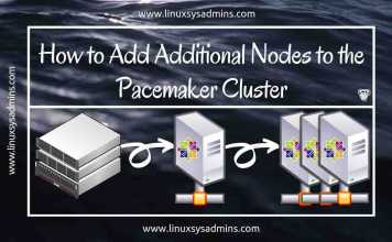 How to Add Additional Nodes to the Pacemaker Cluster