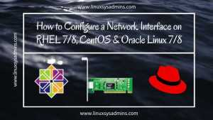 How to Configure a Network Interface on CentOS 7_8