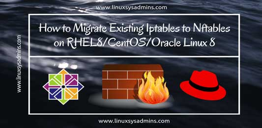 Migrate existing Iptables to Nftables in RHEL8/CentOS