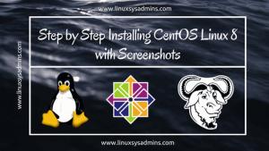 Installing CentOS Linux 8