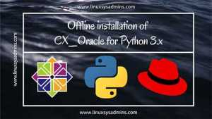 CX_Oracle for Python 3