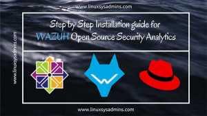 WAZUH Open Source Security Analytics