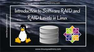Introduction to Software RAID and RAID Levels in Linux