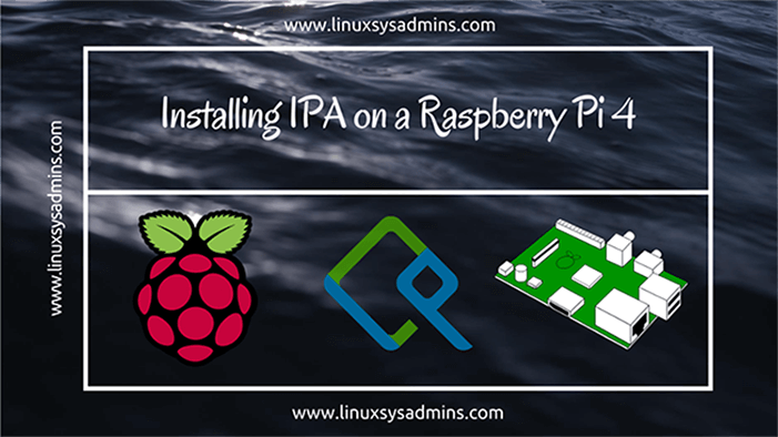 Installing IPA on a Raspberry Pi 4