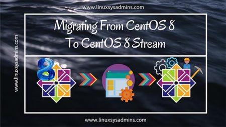 Migrating from CentOS 8 to CentOS 8 Stream