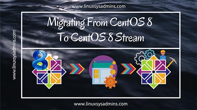 Migrating from CentOS 8 to CentOS 8 Stream