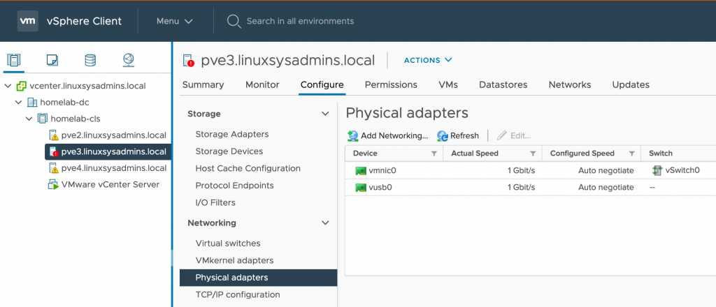 Adding USB Network Adapter to VMware ESXi 7.0 | Easy Guide 2