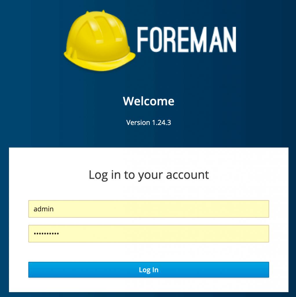 foreman version