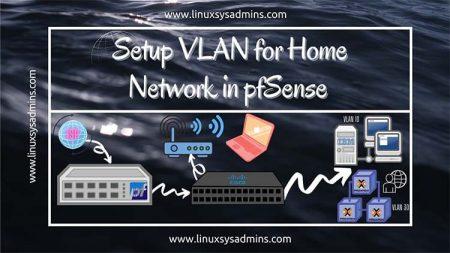 Setup VLAN for Home Network in pfSense